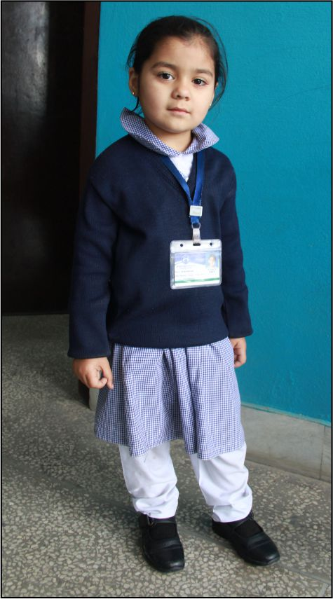 Girls, Nursery to Primary in Winter