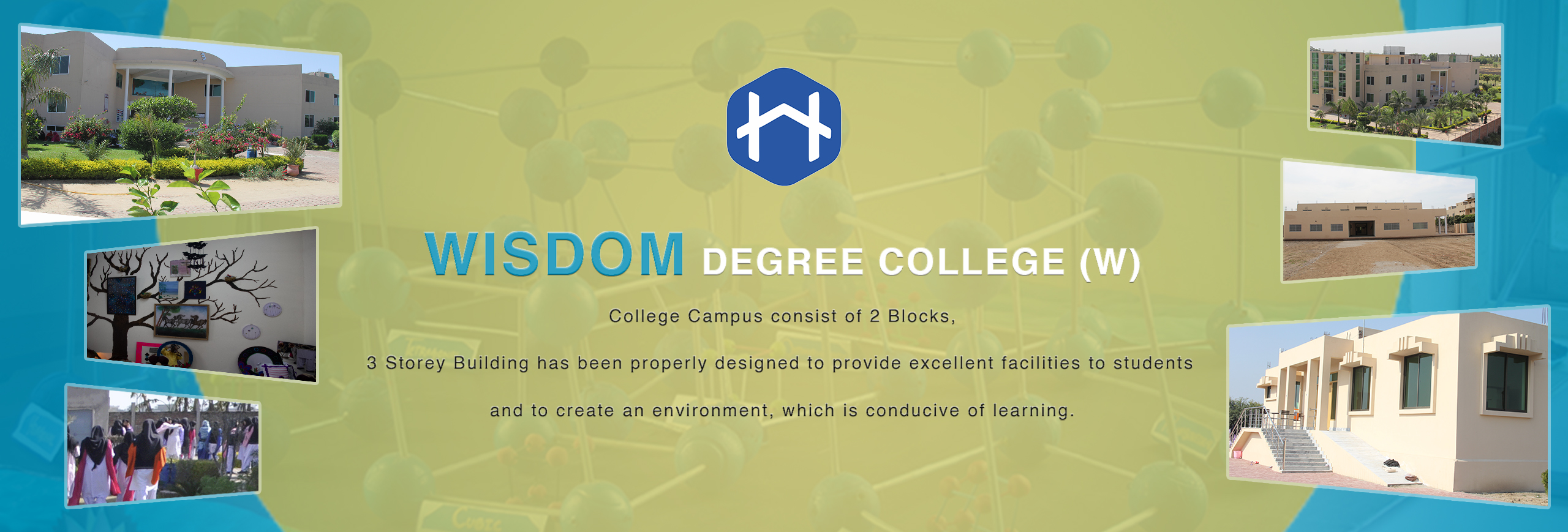 Wisdom Degree College Slider
