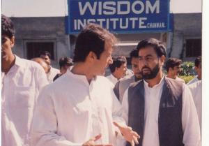 Director Wisdom House With Imran Khan